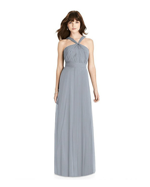 grey silver bridesmaid dresses after six 6783 dress