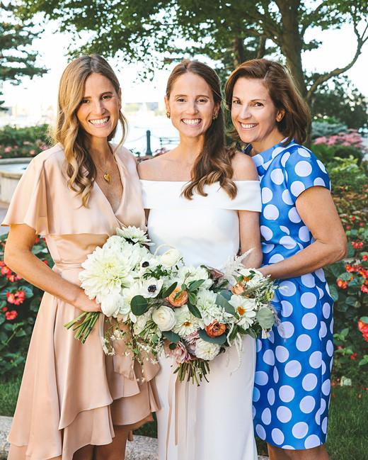 laura john wedding massachusetts sister mother