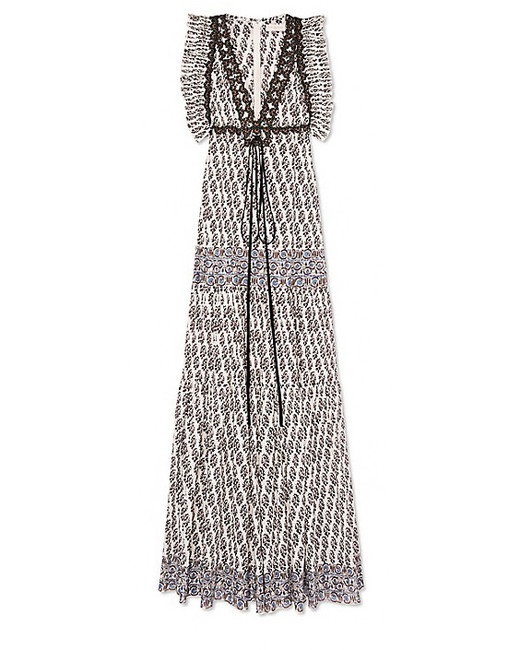tory burch amita maxi dress