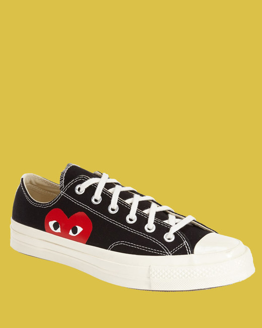 """Commes des Garcons Play X Converse """"Chuck Taylor"""" Low-Top Sneakers"""