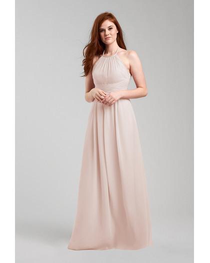 beige neutral bridesmaid dresses weddington way diana