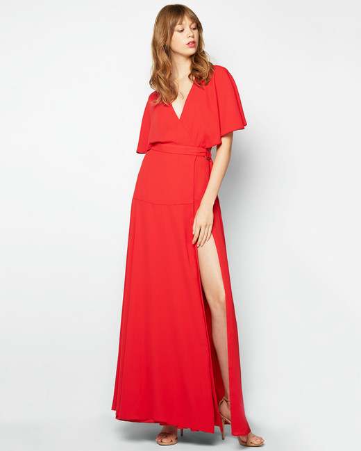 red bridesmaid dress fame and partners dream about me
