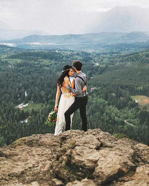 epic elopement locations rattlesnake ridge