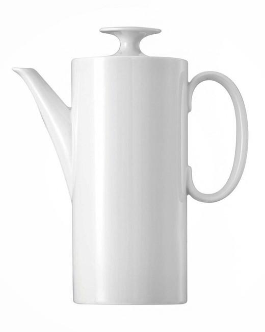 thomas medallion white coffee pot