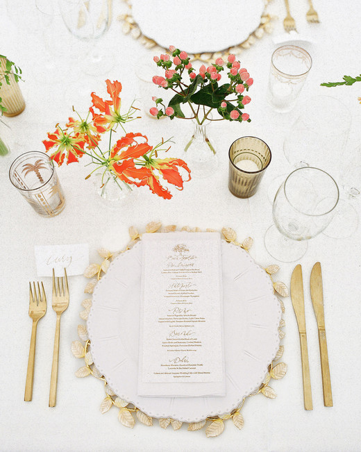 giordana and geoffrey place setting