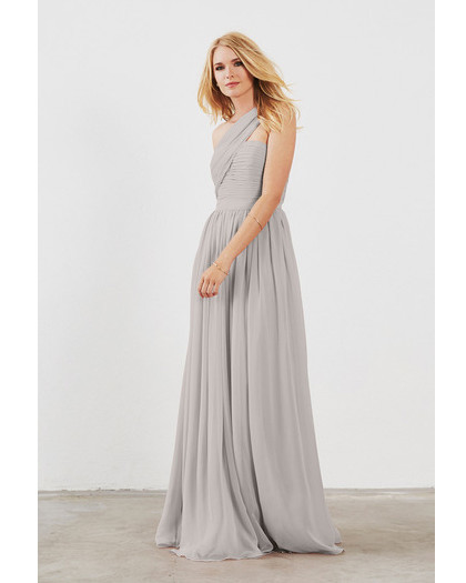 grey silver bridesmaid dresses weddington way seraphina