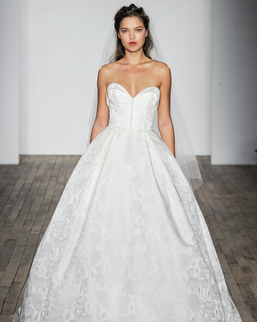Allison Webb Sweetheart A-Line Wedding Dress Fall 2018