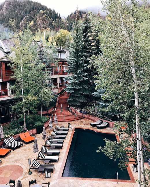 Aspen bachelorette hotels the little nell lauren kay sims
