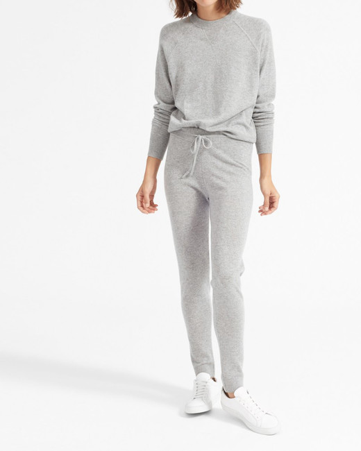 bridesmaid robe alternatives everlane cashmere sweatpants