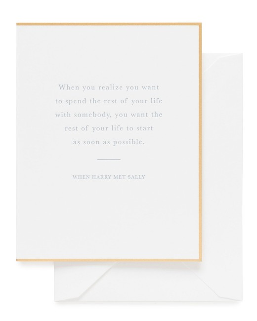"""When You Realize"" Greeting Card"