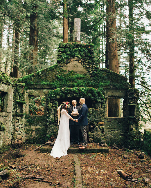 epic elopement locations columbia river gorge