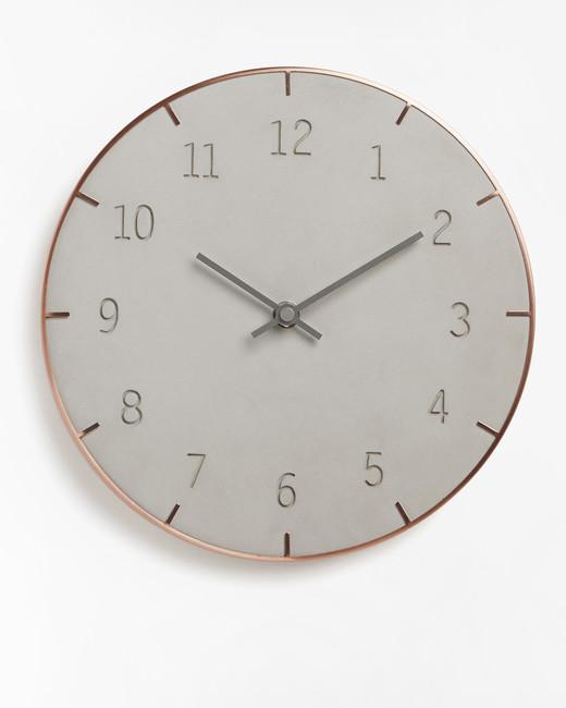 shades of gray registry items zola umbra piatto wall clock