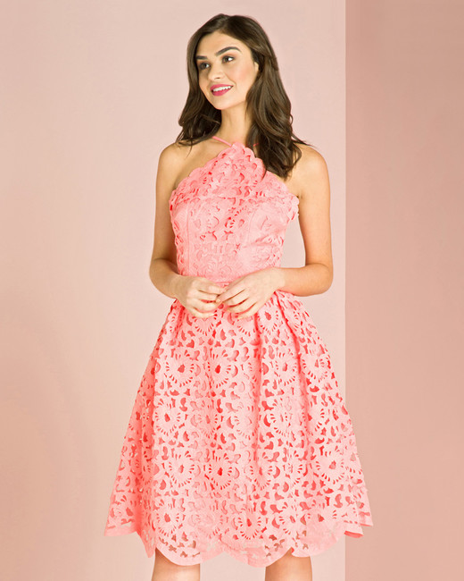 chi chi london gabriela scalloped dress