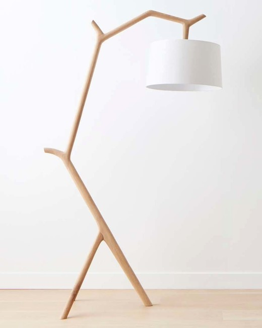 furniture anniversary gift oak floor lamp