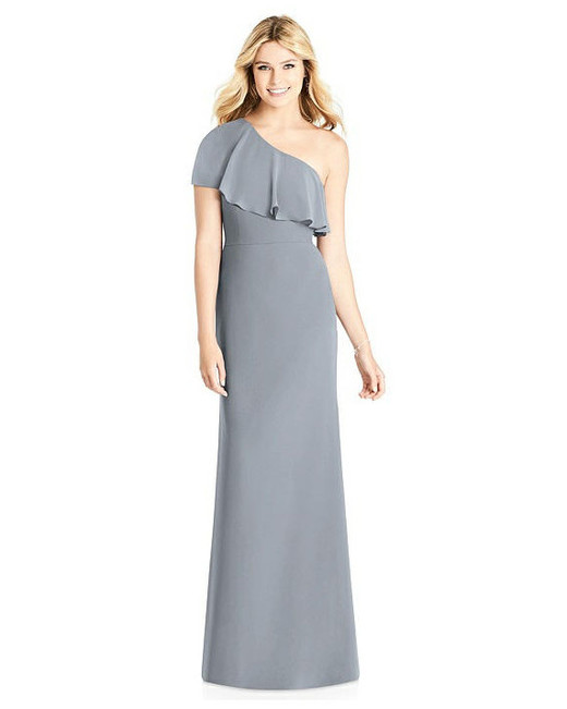 grey silver bridesmaid dresses social bridesmaids 8189 dress