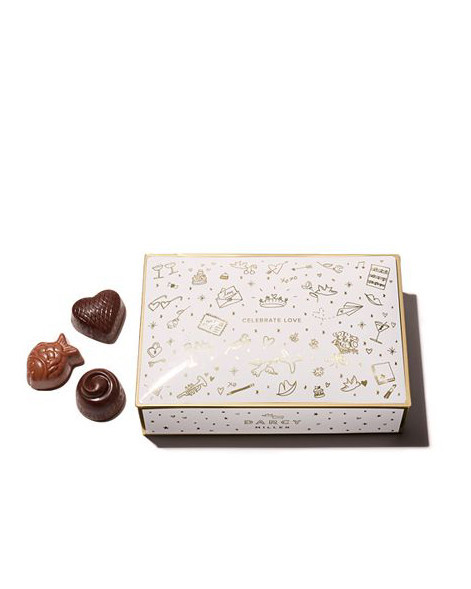 tin box of chocolate candies