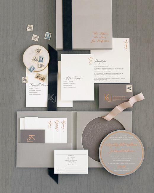kelsey joc wedding santa barbara california invitation suite