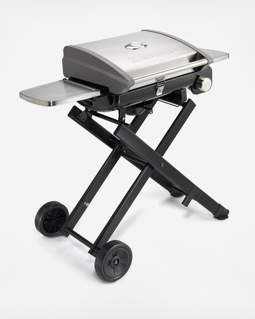 zola cuisinart grill all foods roll away portable lp gas grill