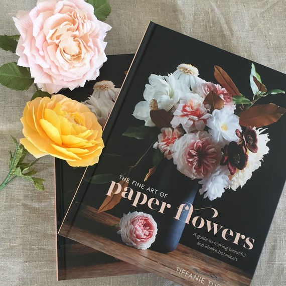 paper flowers book