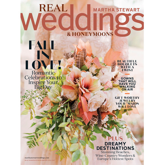 fall 2017 sip real weddings honeymoons cover