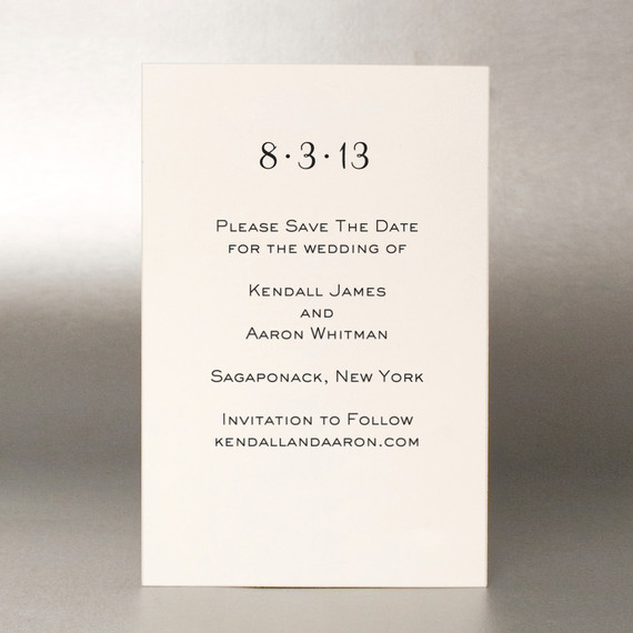 when to save the date