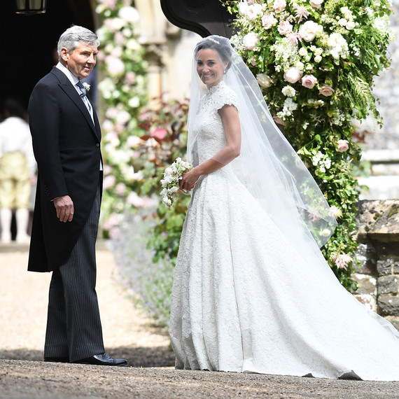 Pippa Middleton wedding dress by Giles Deacon