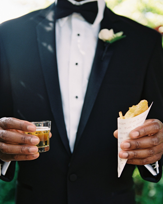 Delicious Wedding Food and Drink Pairings