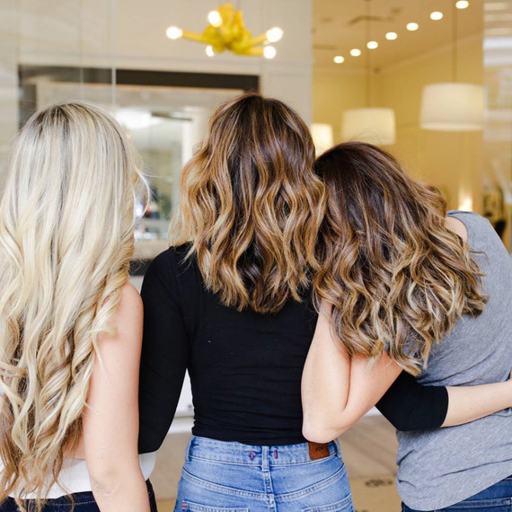 Dry Bar hairstyles