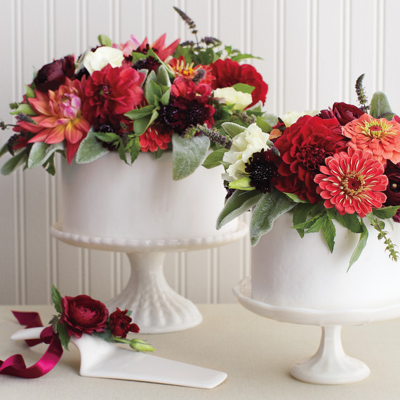 Floral Bouquet Cake Topper | Martha Stewart Weddings