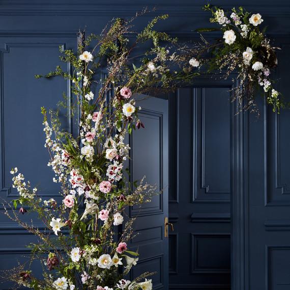 floral entryway