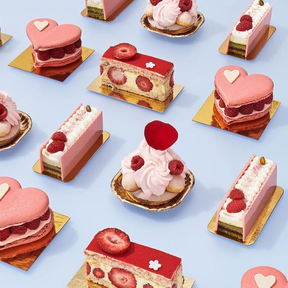 mini berry desserts