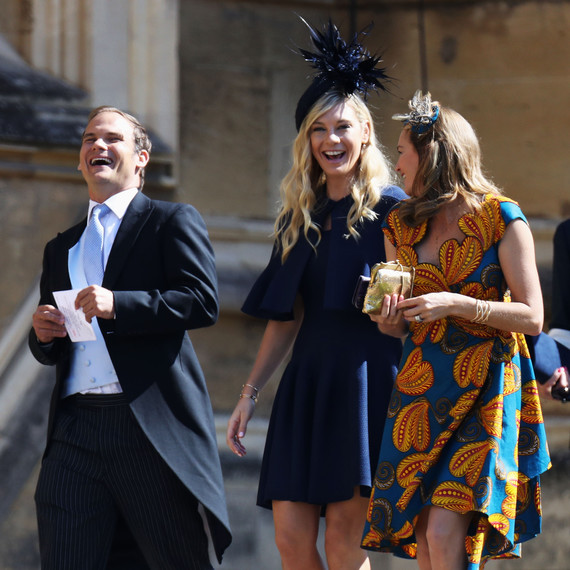 Prince Harry's Ex-Girlfriend Chelsy Davy Arrives At The