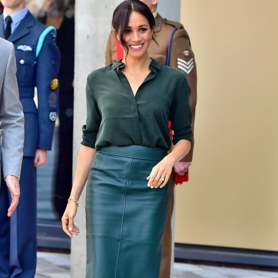 Meghan Markle Brought Back Her Wedding Reception Hairstyle For Her