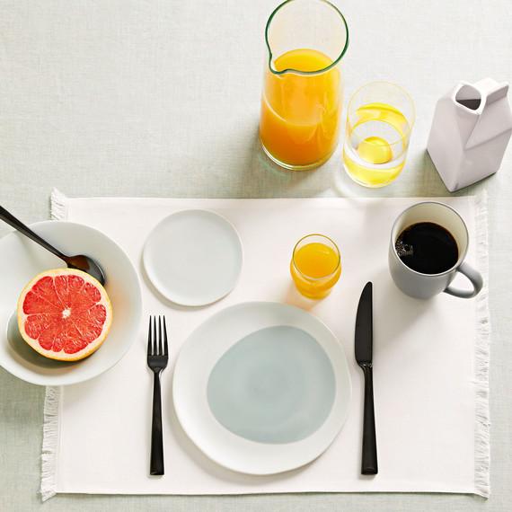 breakfast place setting