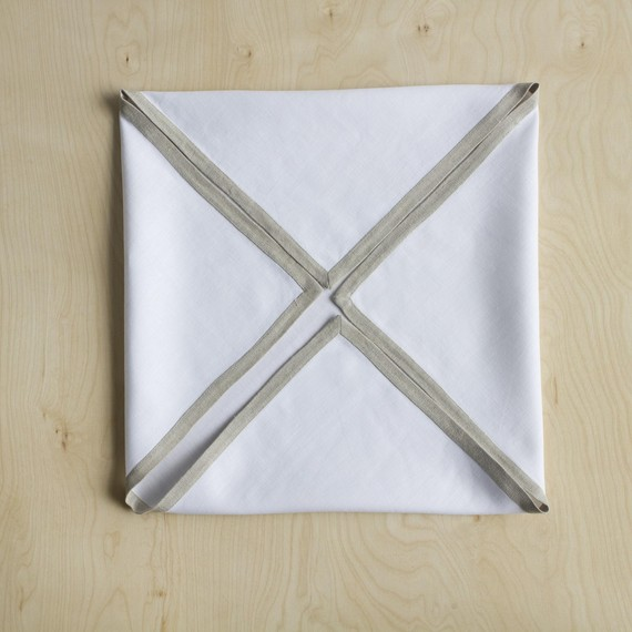Step 1 - Fold Corners