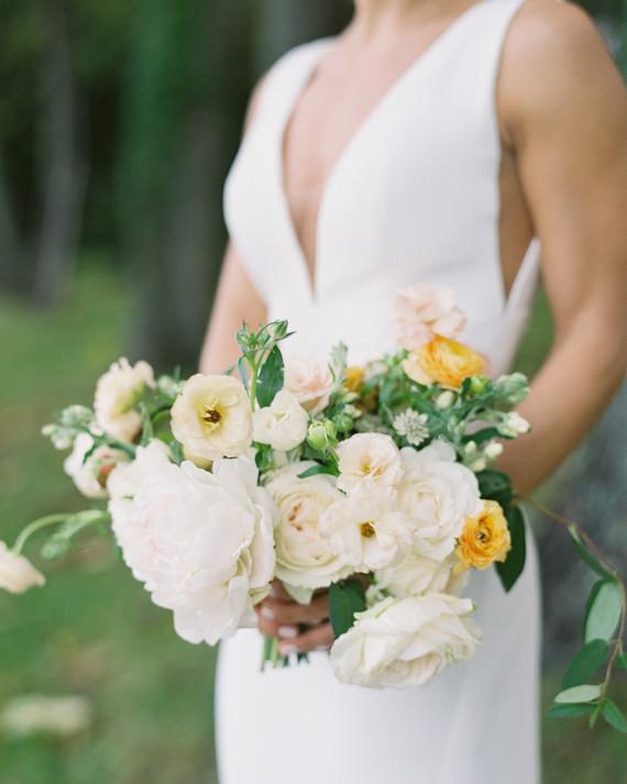 The Prettiest Peony Wedding Bouquets