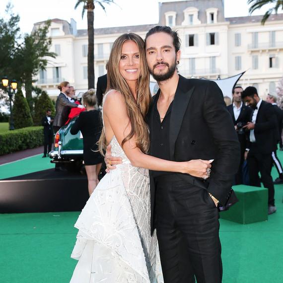Heidi Klum and Tom Kaulitz at Cannes amfAR Gala