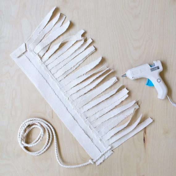 tassel chord glue gun