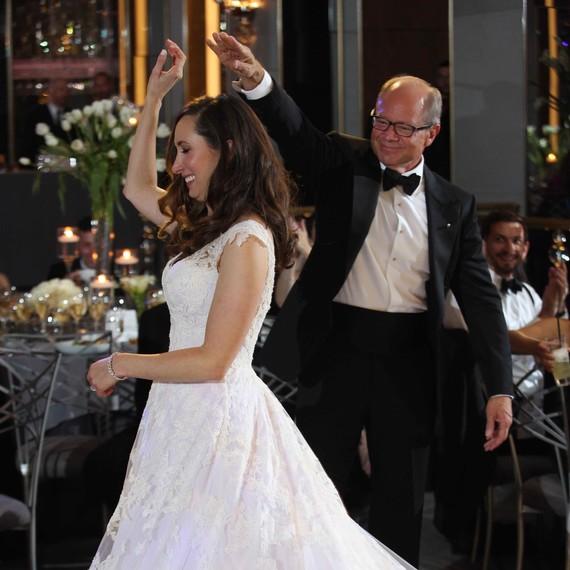 Lauren Roseman and Dale Richards Dancing