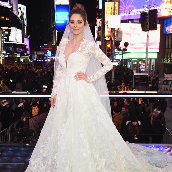 Maria Menounos Wedding Dress