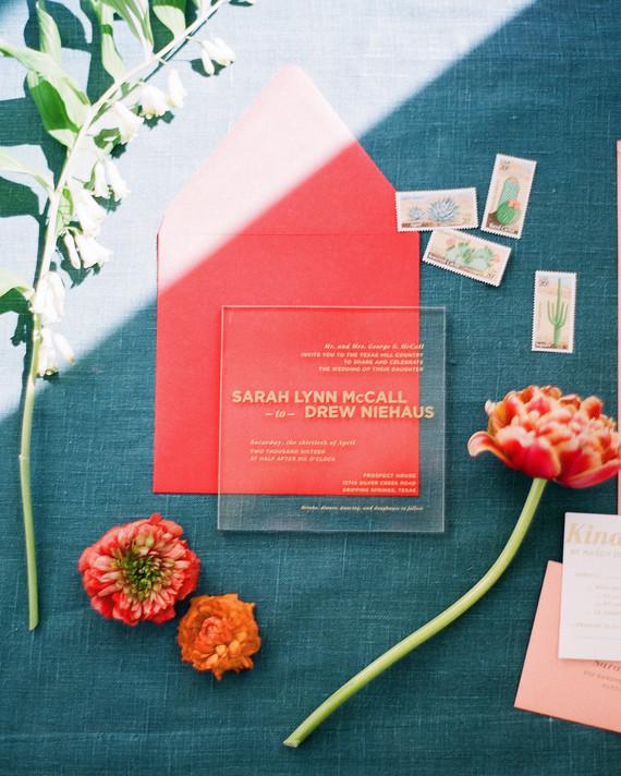 Modern Wedding Invitations We Love