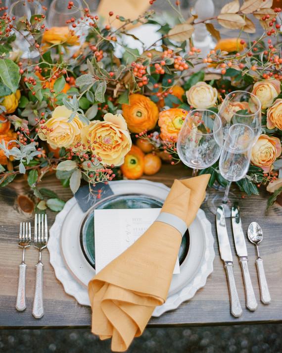 Seasonal Ideas for a Fall Wedding