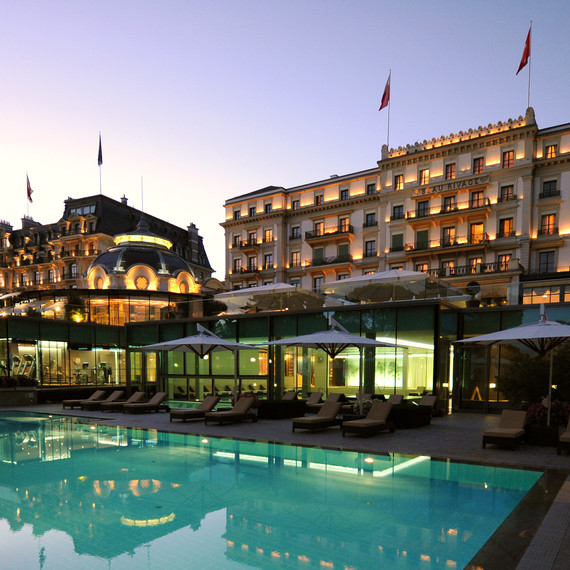 Beau-Rivage Palace Exterior
