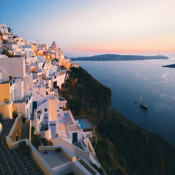 santorini greece travel photo