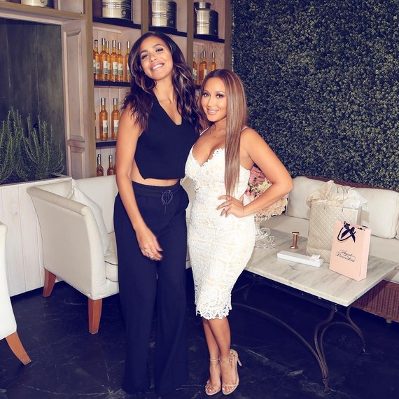 f555b93a7d8 Adrienne Bailon Celebrates Her Wedding Shower With the Most ...