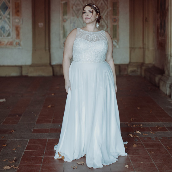 5f1efbaaa71 A Bridal Salon Founder's Best Plus-Size Wedding Dress Shopping Tips ...