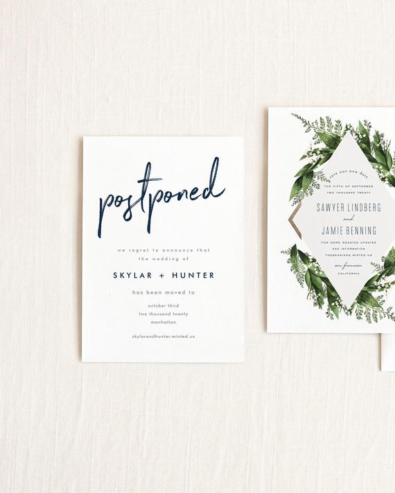 How to Send Wedding Postponement Announcements