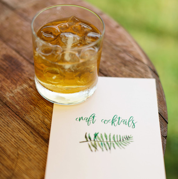 molly ed wedding cocktail napkin