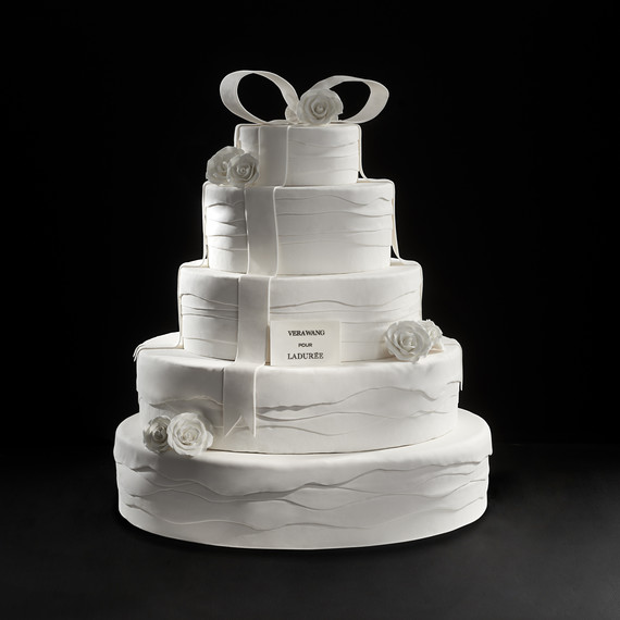 Vera Wang for Laduree Wedding Cake