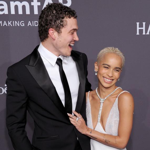 Flipboard Zoe Kravitz Married Karl Glusman At The Most